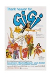 Gigi 1958 Giclee Print