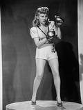 Footlight Serenade, 1942 Photographic Print
