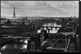 Paris Framed Print Mount by Peter Turnley