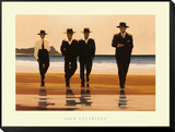 Os Billy Boys  Montagem de impressão emoldurada por Jack Vettriano