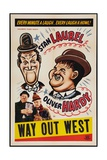 Way Out West, 1937 Giclee Print