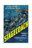 Stagecoach, 1939 Giclee Print