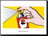 Spray, 1962 Reproduction montée et encadrée par Roy Lichtenstein