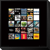 The Beatles: Album Collection Music Poster Framed Print Mount