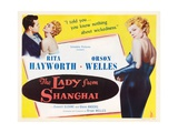 The Lady from Shanghai, 1947 Giclee Print