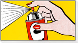 Spray, 1962 Framed Print Mount by Roy Lichtenstein