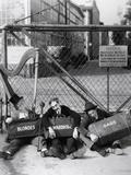 Harpo Marx, the Marx Brothers, Chico Marx, Groucho Marx Photographic Print