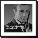 James Bond: Bond Framed Print Mount