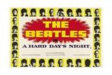A Hard Day's Night, 1964, på engelsk Giclée-tryk