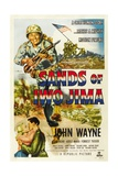 Sands of Iwo Jima, 1949 Giclee Print