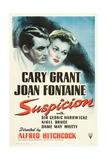 Suspicion, 1941 Giclee Print