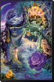 Key To Eternity Mocowany wydruk w ramie autor Josephine Wall