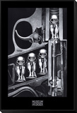 Birth Machine Framed Print Mount by H. R. Giger