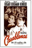 Casablanca Inramat monterat konsttryck