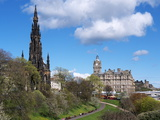 Princes Street Gardens, Edinburgh, Scotland Prints by  clivewa