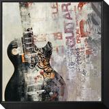 Rock n Roll II Framed Print Mount von David Fischer