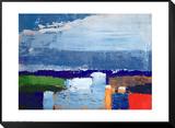 Landskap vid middagstid Noon Landscape Inramat monterat konsttryck av Nicolas De Staël