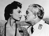 Scandal in Sorrento, 1955 Papier Photo