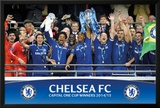 Chelsea - Capital One Winners Trophy Print