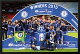 Chelsea - Capital One Winners Team Posters