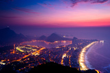 Early Morning Sunrise in Rio De Janeiro Prints by  dabldy