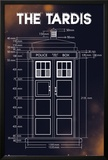 Doctor Who - Tardis Plans Prints