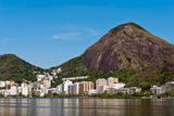 Rio De Janeiro Mountains around Lagoon Posters by  dabldy