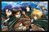 Attack On Titan - Swords Posters