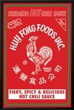 Sriracha - Label Poster