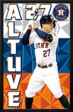 Houston Astros - J Altuve 15 Prints