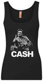 Tank Top: Johnny Cash - The Bird Débardeur