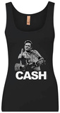Tank Top: Johnny Cash - The Bird Tank Top