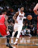 Chicago Bulls v Milwaukee Bucks - Game Four Photographie par Gary Dineen