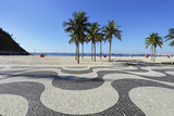 Copacabana Beach, Rio De Janeiro Photographic Print by luiz rocha