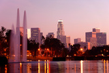 Los Angeles from Echo Park Photographic Print by  briancweed