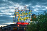 Famous Old Town Portland, Oregon Neon Sign Photographic Print by  photo ua