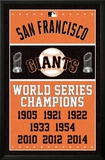 San Francisco Giants - Champions Print