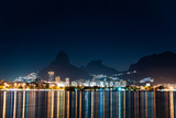 Rio De Janeiro at Night Photographic Print by  dabldy