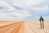Red Desert Road Reproduction photographique par  biglight