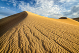 Sand Dunes, Desert in Death Valley. Photographic Print by  lucky-photographer