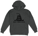 Hoodie: Don't Tread On Me Mikina s kapucí
