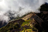 Views around Machu Picchu Inca Ruins in the Cioud Forest Peru Photographic Print by Gail Johnson