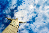 Christ the Redeemer Statue in Rio De Janeiro Photographic Print by  thakala