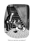 """Don't just stand there—get witnesses!"" - New Yorker Cartoon Premium Giclee Print by Sydney Hoff"