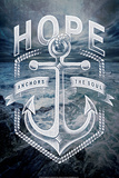 Hope Anchors Plakater