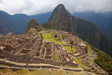 Views around Machu Picchu Inca Ruins Photographic Print by Gail Johnson
