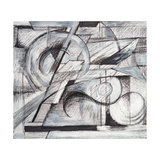 An Abstract Drawing Affiches par  clivewa
