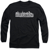 Long Sleeve: Gotham - Skyline Logo T-shirts