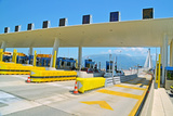 Toll Station - Rio Antirio Patra Greece Photographic Print by sea and sun