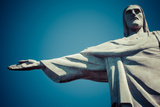 Christ the Redeemer Statue in Rio De Janeiro in Brazil Photographic Print by Mariusz Prusaczyk